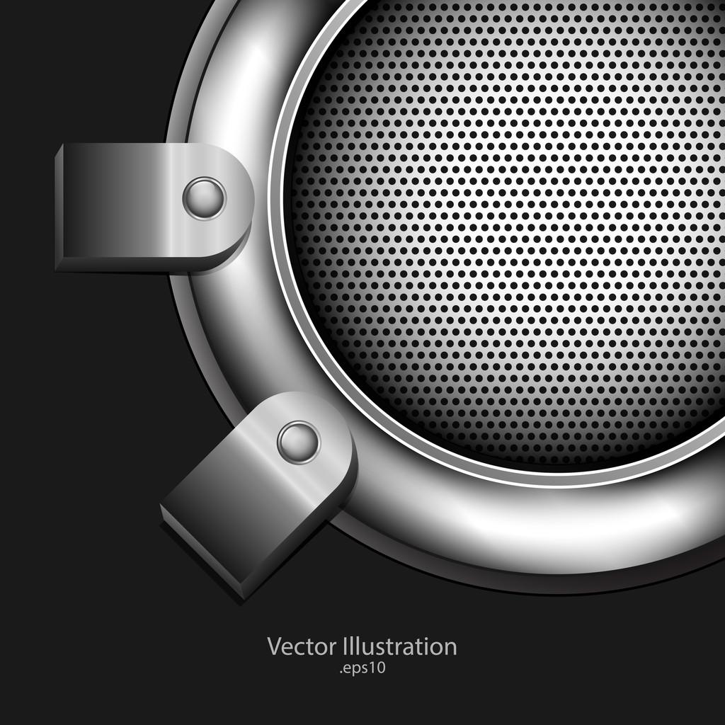 Abstract metallic background. vector design