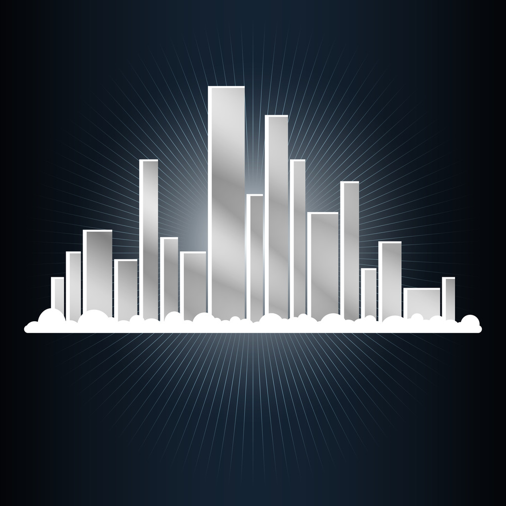 Abstract city. Vector illustration