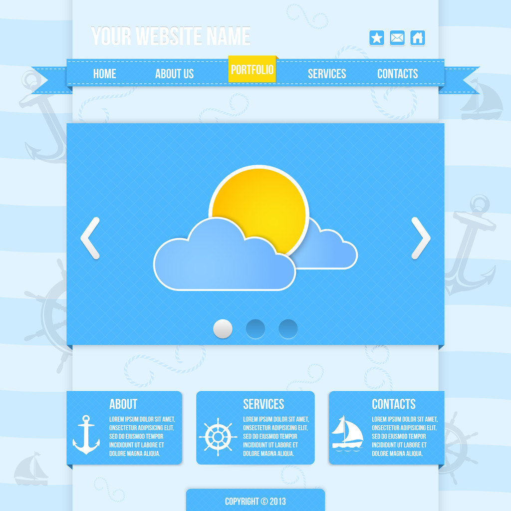 Weather icons, vector illustration