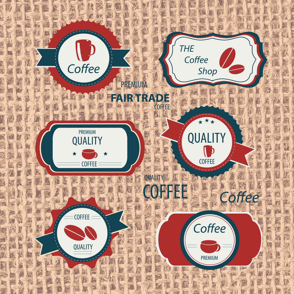 Restaurant and cafeshop labels vector