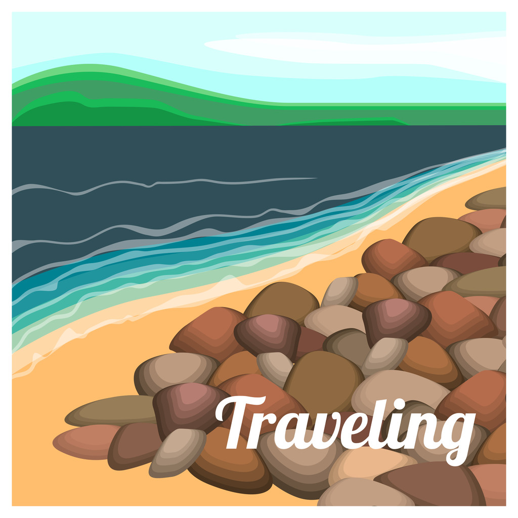 Summer holiday vector background