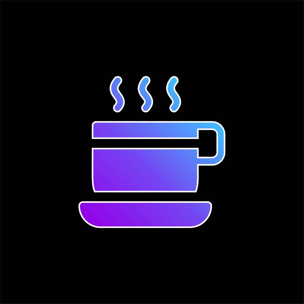 Break Time blue gradient vector icon
