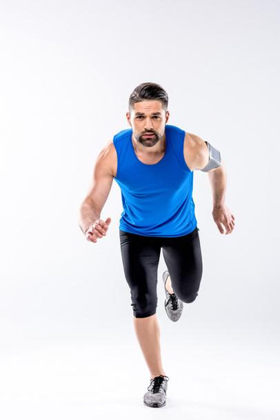 Athletic man running  - Photo, Image