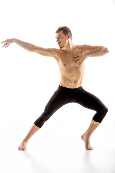 Young man dancing - Photo, Image