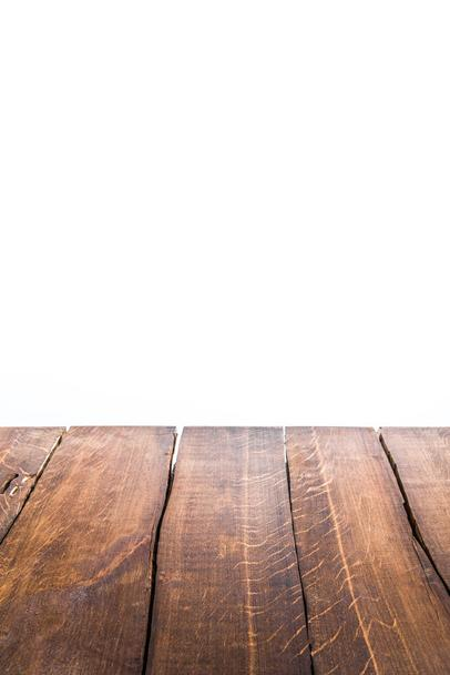 brown wooden background - Photo, Image