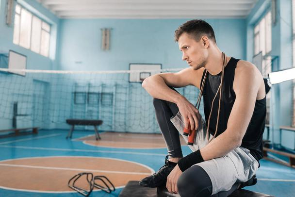 Sporty young man - Photo, Image