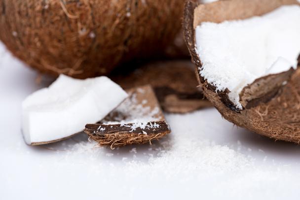 органічні кокосового з стружок  - Фото, зображення