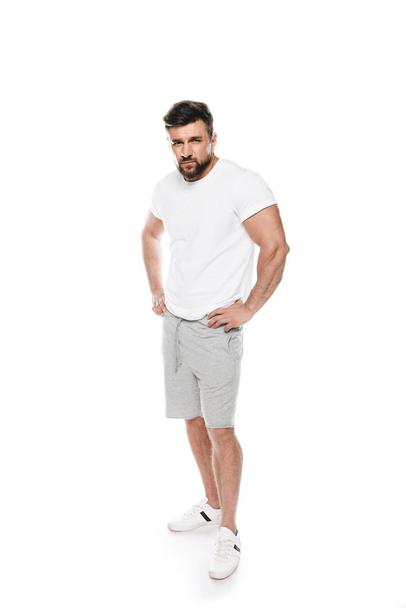 Confident man posing in casual clothes - Photo, Image