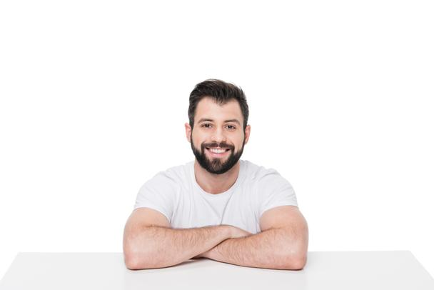 Handsome young bearded man  - Photo, Image
