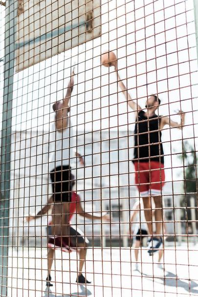 men playing basketball - Photo, Image