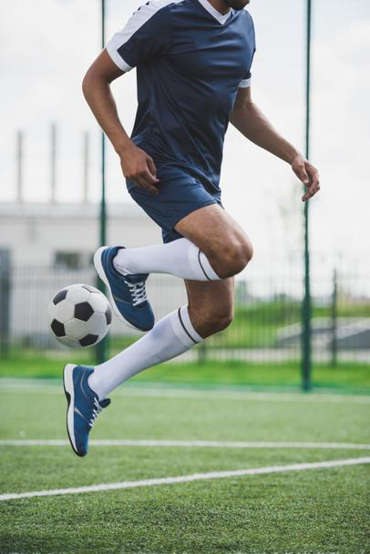 soccer player with ball - Photo, Image