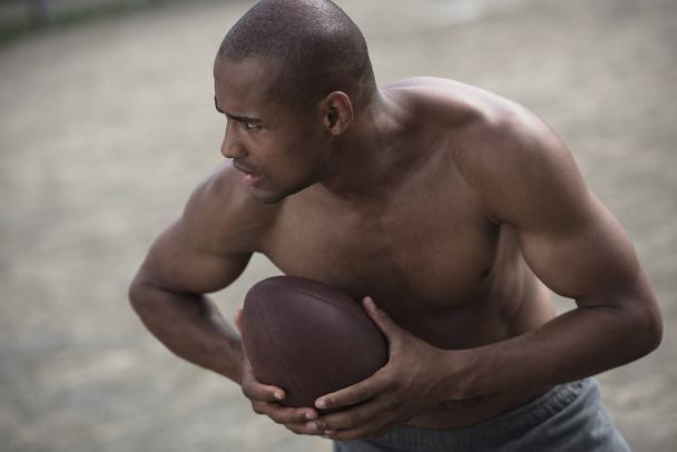 male football player - Photo, Image
