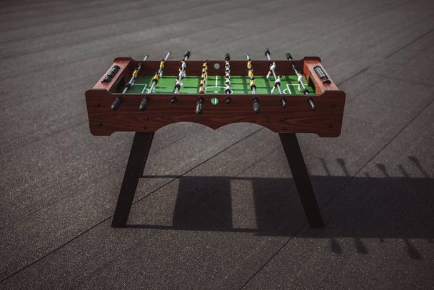 table football outdoors - Photo, Image