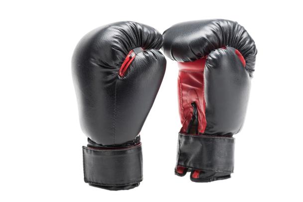 black boxing gloves - Photo, Image