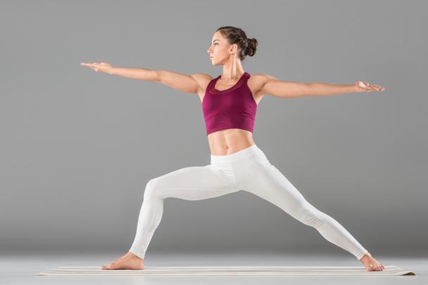 woman doing yoga exercise - Photo, Image
