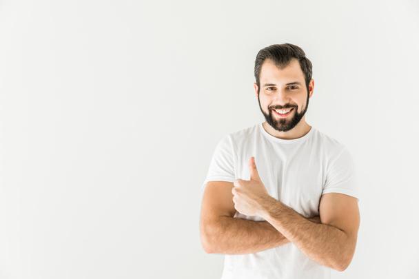 man showing thumb up  - Photo, Image
