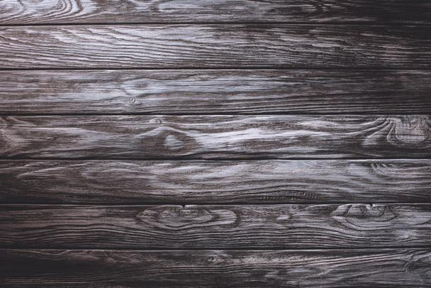Wooden planks painted in grey background - Photo, Image