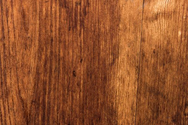 Brown wooden background for carpentry template - Photo, Image