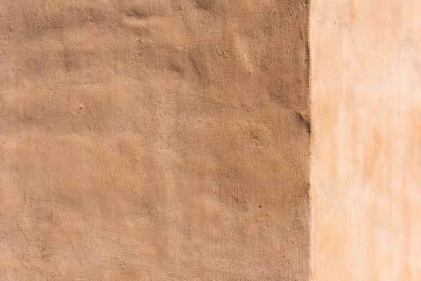 empty light brown cement wall background  - Photo, Image