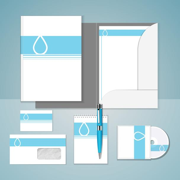 Set of templates corporate identity - Vector, Image