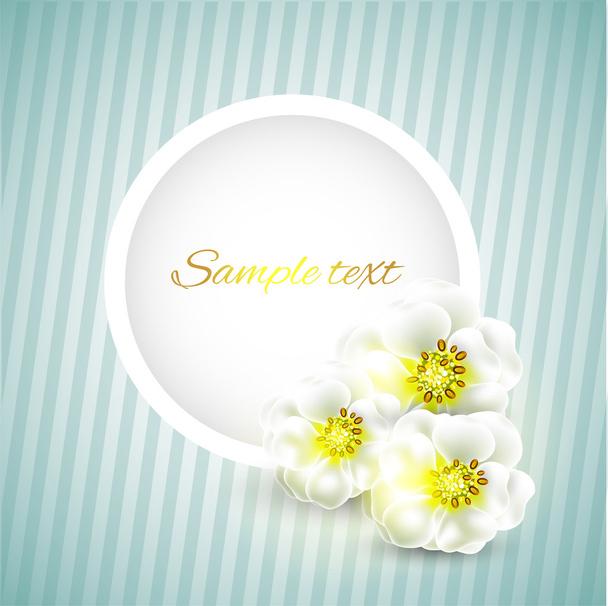 Vector floral background design - Vector, Image