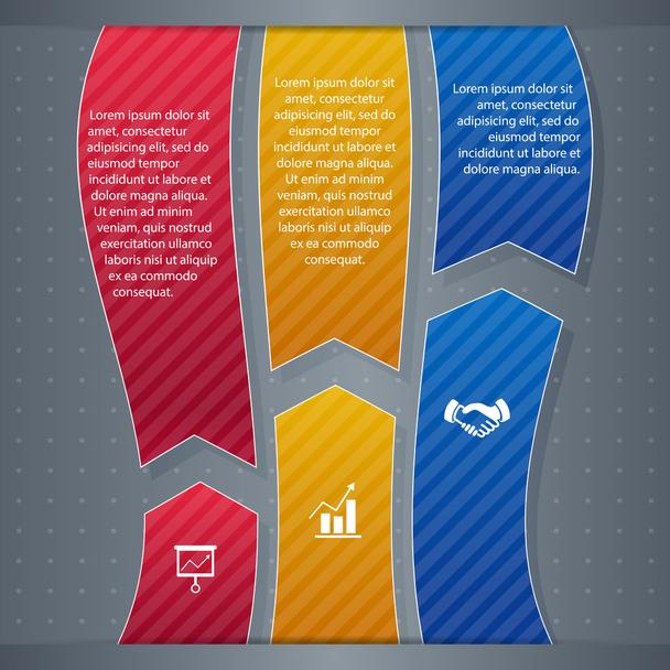 infographic  banner vector illustration   - Vector, Image