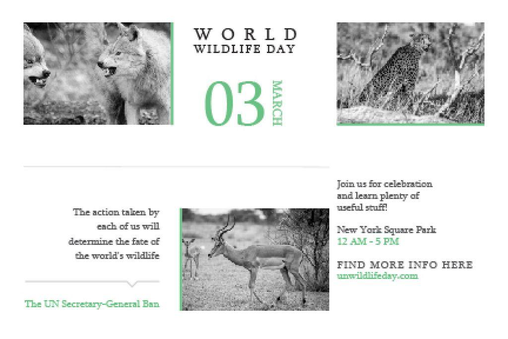 World wildlife day — Maak een ontwerp