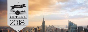 World's top cities with big city landscape