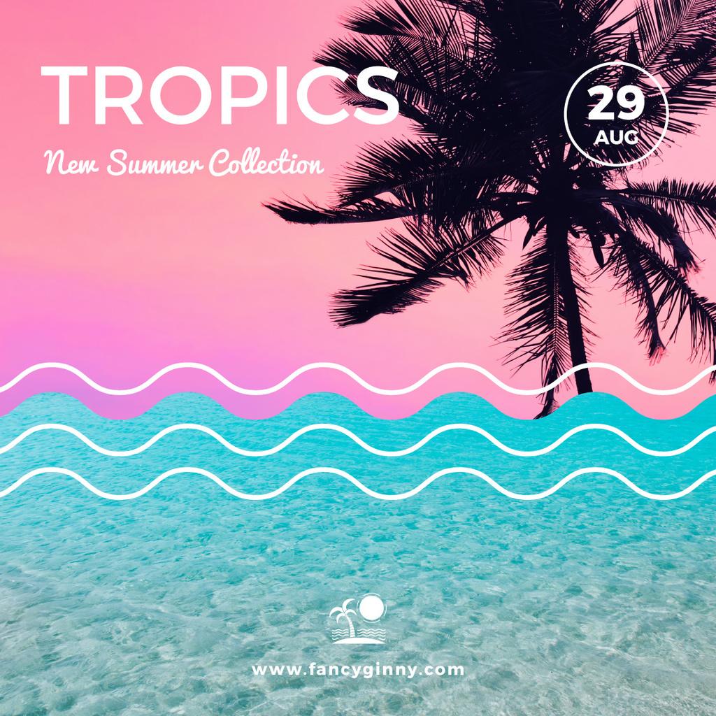 New summer collection in Tropics — Створити дизайн