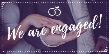 We are engaged banner