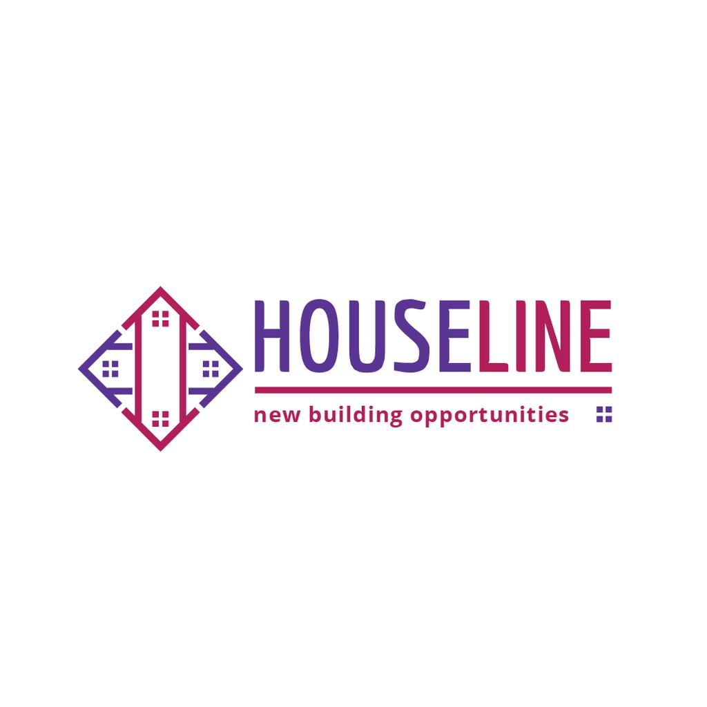 Construction Company Ad Residential Houses | Logo Template — Create a Design