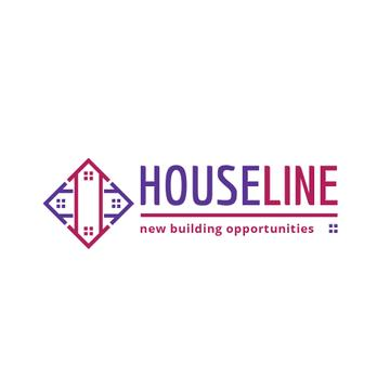 Construction Company Ad Residential Houses | Logo Template