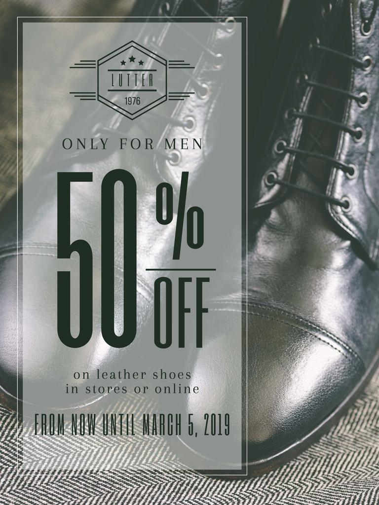 Shoes sale advertisement — Create a Design