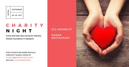 Szablon projektu Corporate Charity Night Announcement Facebook AD