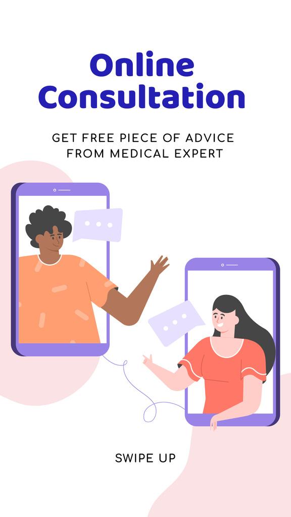 Online Medical Support — ein Design erstellen