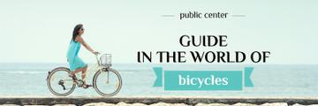 guide in the world of bicycles banner