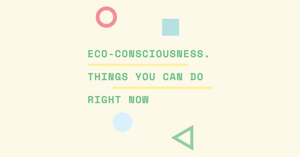 Eco-consciousness concept — Create a Design