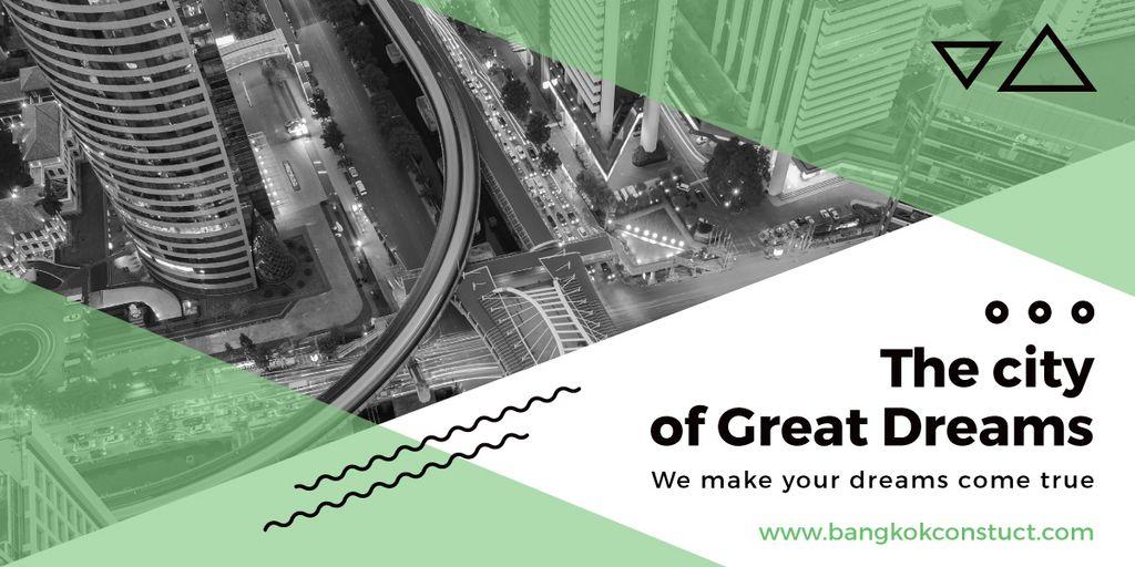 City of great dreams poster — Crear un diseño