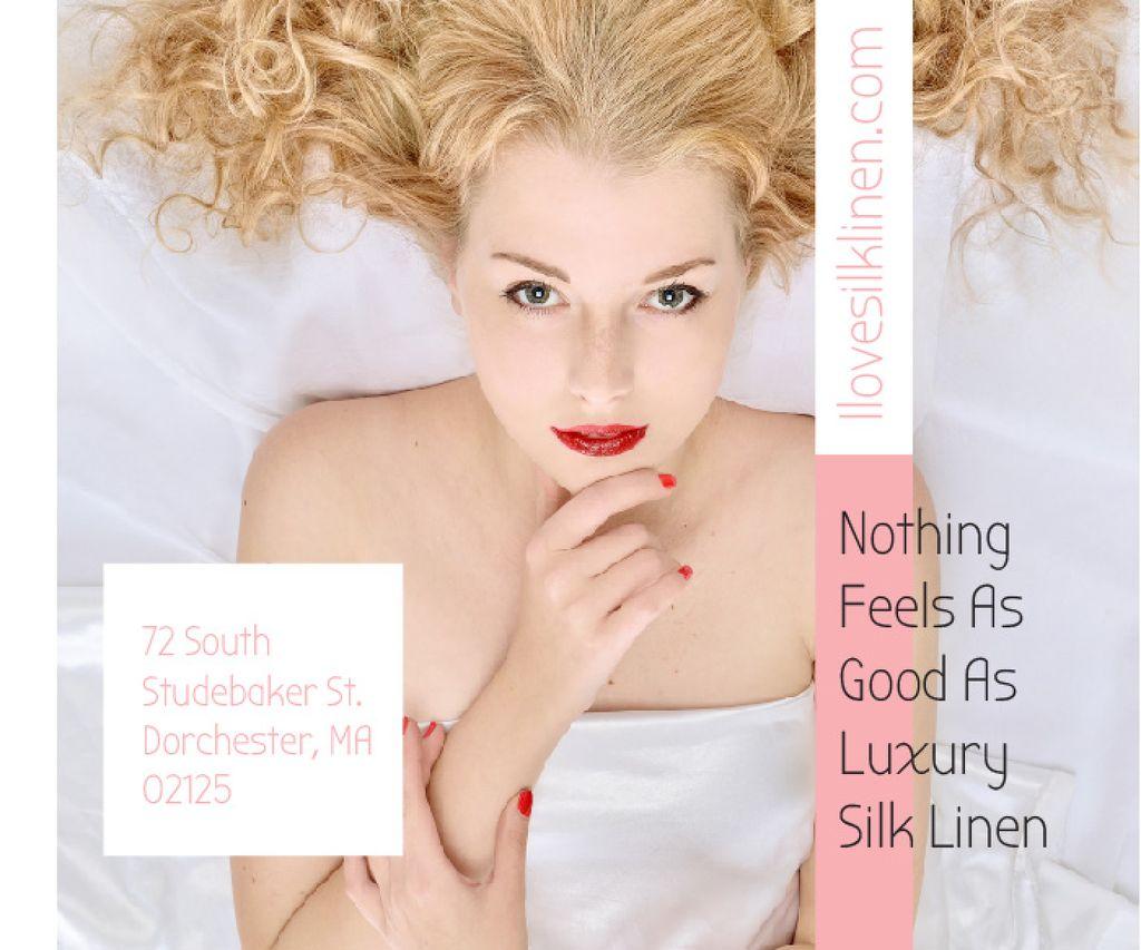 Luxury silk linen — Créer un visuel