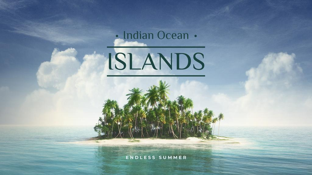 Indian ocean islands — ein Design erstellen