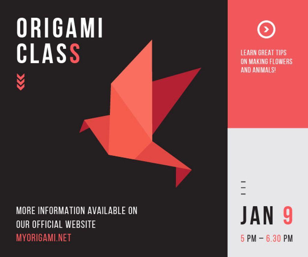 Origami class poster — ein Design erstellen