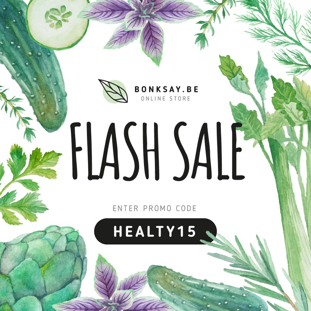 Healthy Nutrition Sale — Створити дизайн