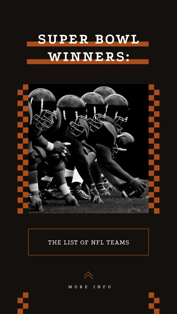 American football players on field — Створити дизайн
