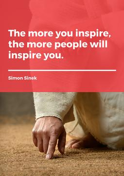 Citation about a people inspiration