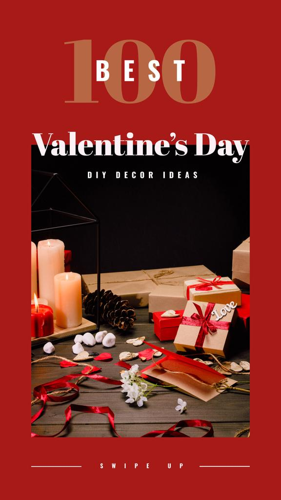 Gifts and decor for Valentine's Day — Створити дизайн