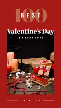 Gifts and decor for Valentine's Day