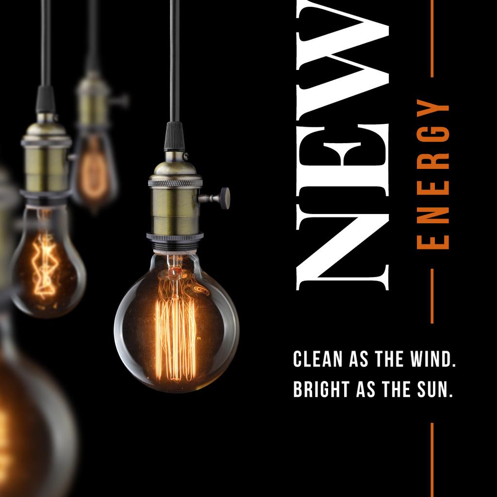Bulbs with warm light — Create a Design