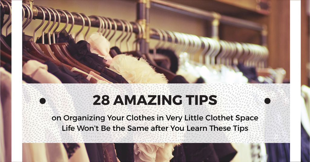 Tips for organizing clothes — Crear un diseño