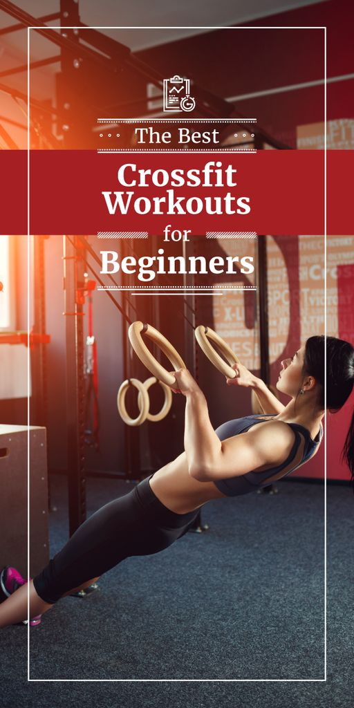 best fitness workouts for beginners poster — Create a Design