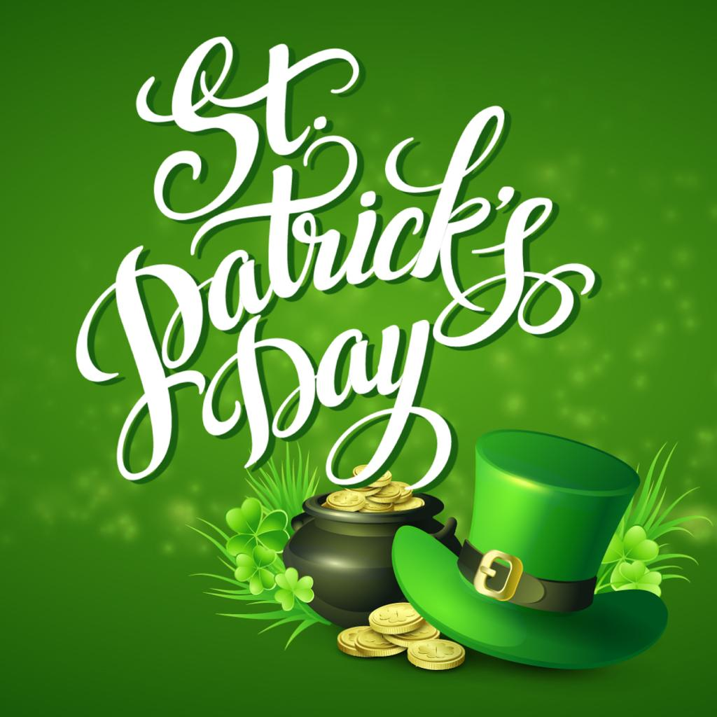 Hat and Coins for Saint Patrick's Day — Créer un visuel